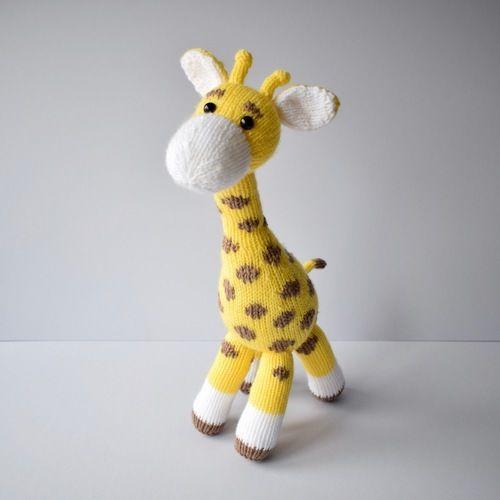 Makerist - Giraffe toy - Knitting Showcase - 3
