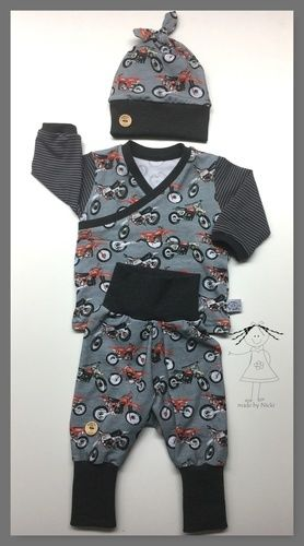 Makerist - Baby-Set aus Schnabelina-Shirt Trotzkopf und Basic-Pumphose - Nähprojekte - 1