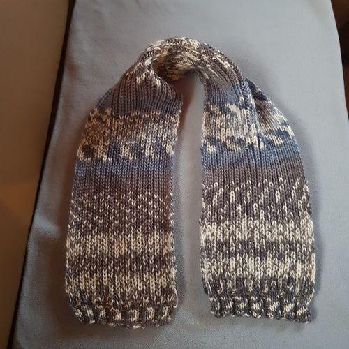 Makerist - Schal für meinen Enkel 12 Jahre - Strickprojekte - 1