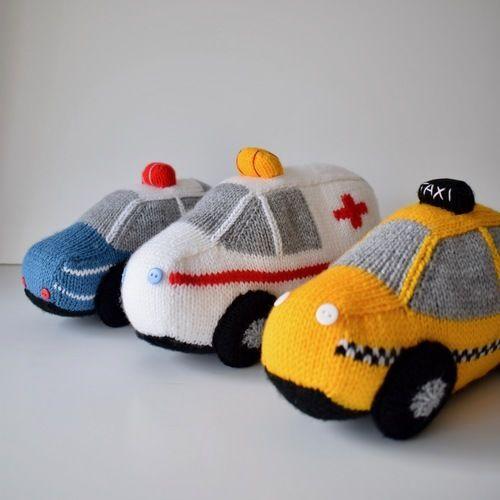 Makerist - Toy Vehicles - Knitting Showcase - 1