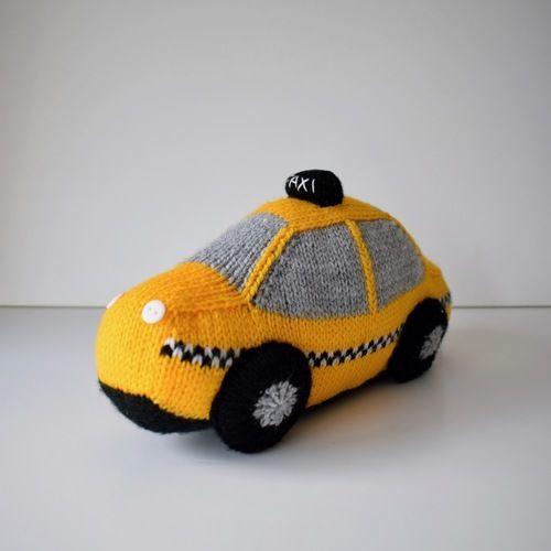 Makerist - Toy Vehicles - Knitting Showcase - 2