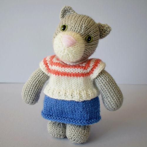 Makerist - Clara Cat - Knitting Showcase - 1