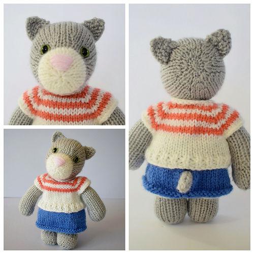 Makerist - Clara Cat - Knitting Showcase - 2