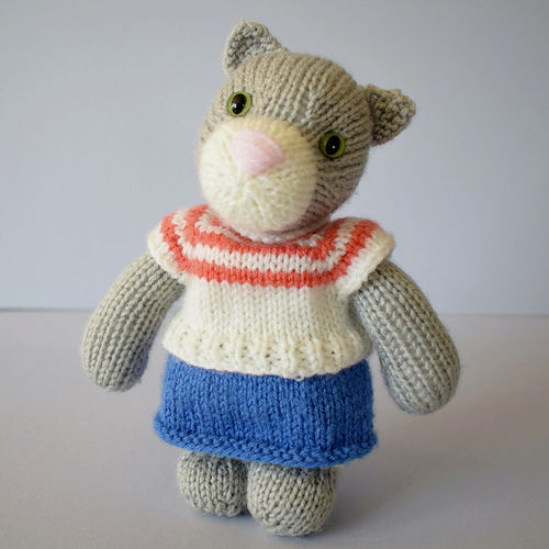 Makerist - Clara Cat - Knitting Showcase - 1