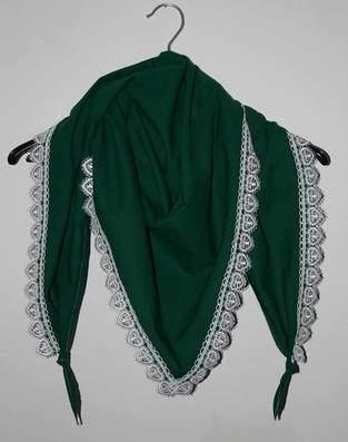 Makerist - Schicker Schal in grün - 1