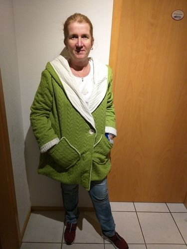 Makerist - Lieblingsjacke in mal chic mal alltagstauglich - Nähprojekte - 2