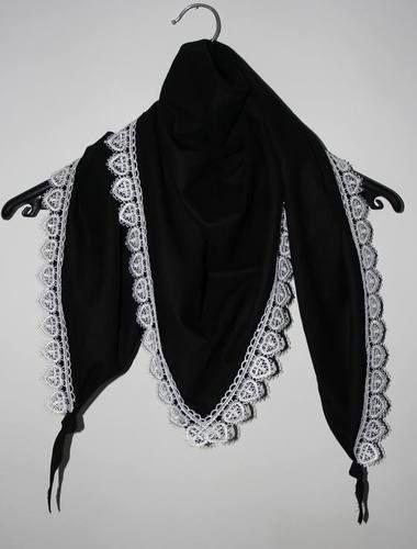 Makerist - Den Schal gibt es auch in schwarz - Nähprojekte - 1