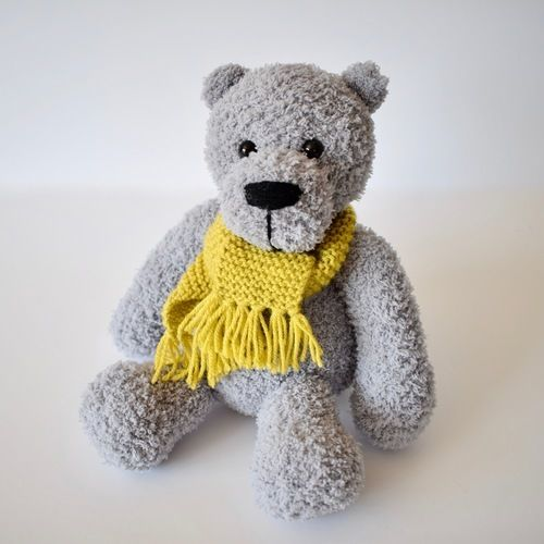 Makerist - Honey Hat and Scarf - Knitting Showcase - 2