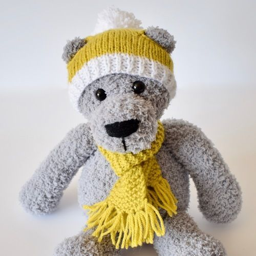 Makerist - Honey Hat and Scarf - Knitting Showcase - 3