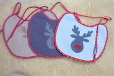 Makerist - Schnell genäht: Lätzchen zu Weihnachten - 1