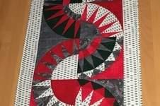 Makerist - Weihnachtlicher Tischläufer mit Paperpiecing für mich selbst gemacht - 1