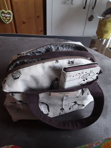 Makerist - Kleine Pinguin-Bag - Nähprojekte - 3