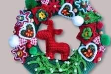 Makerist - Weihnachtsdeko Türkranz - 1