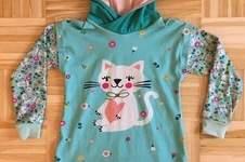 Makerist - Katzen Kleid für meine Nichte  - 1