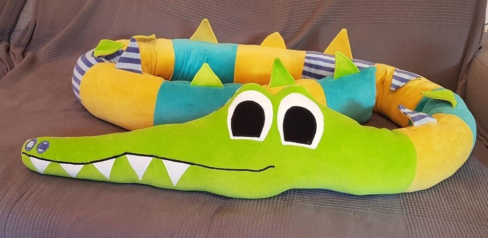 Makerist - Bettschlange Krokodil Holgar aus Nicky - Nähprojekte - 1