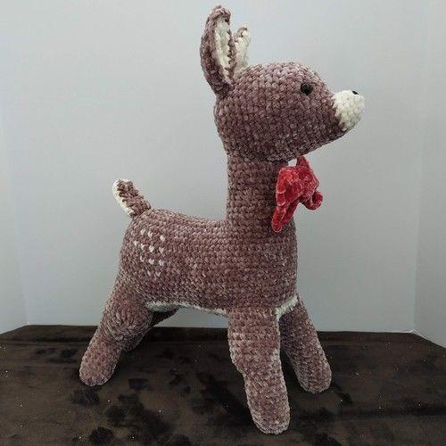 Makerist - Petit faon - peluche amigurumi - Créations de crochet - 1