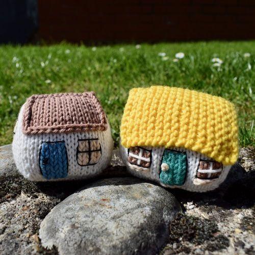 Makerist - Itsy Bitsy Houses - Knitting Showcase - 2