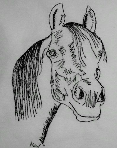 Makerist - Genähmalt: Pferdekopf Araber - Nähprojekte - 1