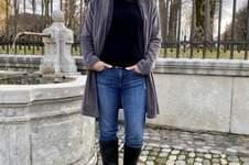 Makerist - Grete Cardigan aus Nicki Stoff - 1