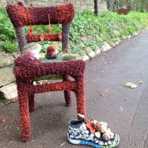 Makerist - Stuhl im Herbstkleid - Strickprojekte - 1