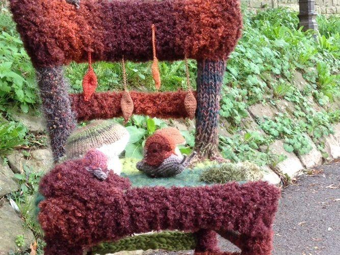 Makerist - Stuhl im Herbstkleid - Strickprojekte - 2