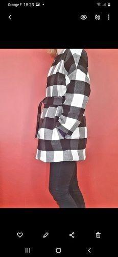 Makerist - Manteau SYLVETTE en lainage - Créations de couture - 1