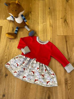 Girly Sweater für meine Enkelin