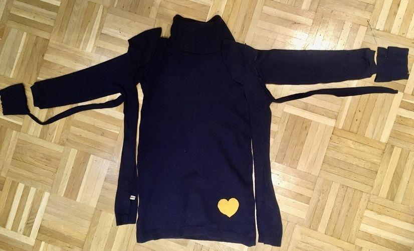 Makerist - Upcycling aus Pullover wird ein Kleid - Nähprojekte - 2