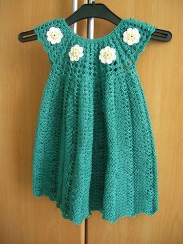 Makerist - Sommerkleidchen für eine ganz junge Dame - Häkelprojekte - 1