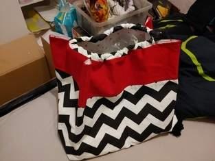 Makerist - Twin Peaks - Tasche in Reisbeutelform - 1