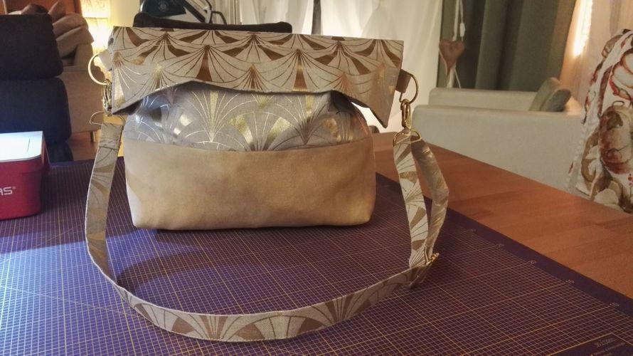 Makerist - Tasche, Canvas und Kunstleder, Jessica - Nähprojekte - 1