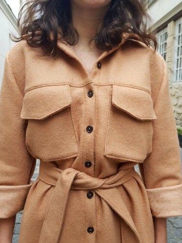 Makerist - La Baroudeuse en lainage - Créations de couture - 3