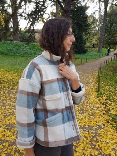 Makerist - Veste Julien en lainage à carreaux - Créations de couture - 2