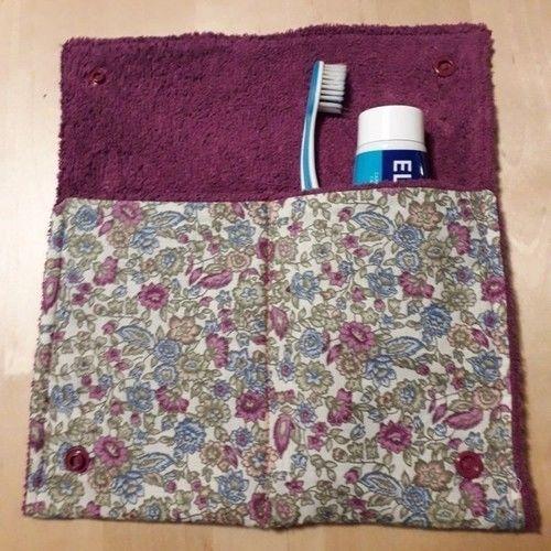 Makerist - Pochette brosse à dents  - Créations de couture - 1