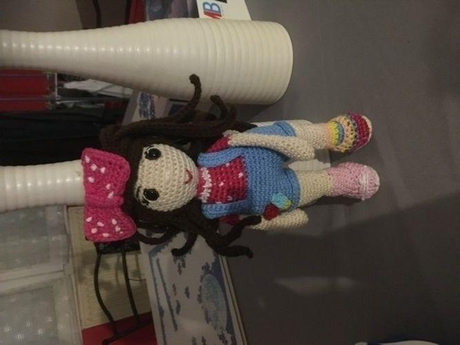 Makerist - Mélodie en coton , destinée a Philippine que garde ma soeur  - Créations de crochet - 1
