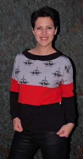 """Makerist - Pullover """"Jenna"""" von Schnittrebell; Basic-Pullover für Frauen mit Rücken-V-Ausschnitt - 1"""