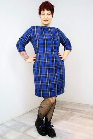 TAMARA - wunderschönes Kleid aus Webware im 50er Jahre Stil