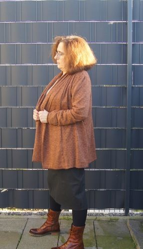 Makerist - Cardigan Grete - Nähprojekte - 1