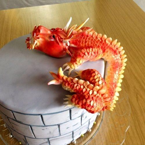 Makerist - Drachen zähmen,leicht gemacht - Torten, Cake Pops und Cupcakes - 1