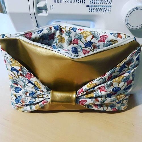 Makerist - Pochette flora - Créations de couture - 2
