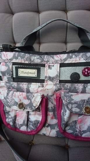 Makerist - Handtasche Tamira von prinzessin farbenfroh - Sandymade  - 1