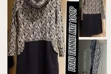 Makerist - Kleid Frau Fannie mit Loop aus Jaquard von Traumbeere  - 1