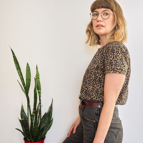 Makerist - The Jeanne Ready to Sew - Leopard Print Tee - Sewing Showcase - 3