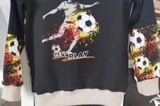 Makerist - Kinder Fußball Hoodie  - 1