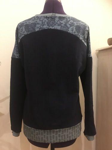 Makerist - Pullover mit Panel  - Nähprojekte - 3