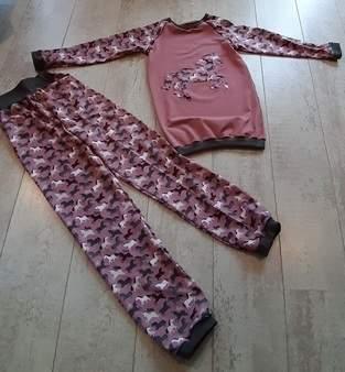 Makerist - Raglan Pullover und Jogginghose nach Mamahoch 2  - 1