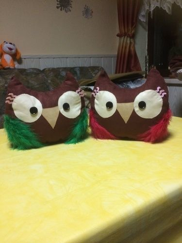 Makerist - Eulenkissen für meine Tochter und ihre Freundin!  - Nähprojekte - 1