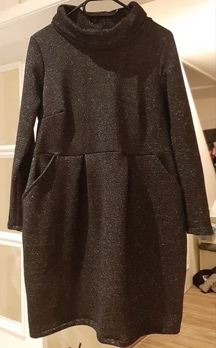 Makerist - FESTLICHES Kleid CHLOE v pattydoo  mit Rollkragen in Sweat.. - Nähprojekte - 3