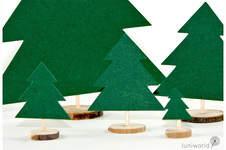 Makerist - Kleine Tannenbäumchen aus Papier - 1