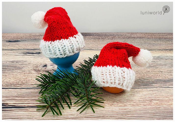 Makerist - Weihnachtliche Eierwärmer - Strickprojekte - 1